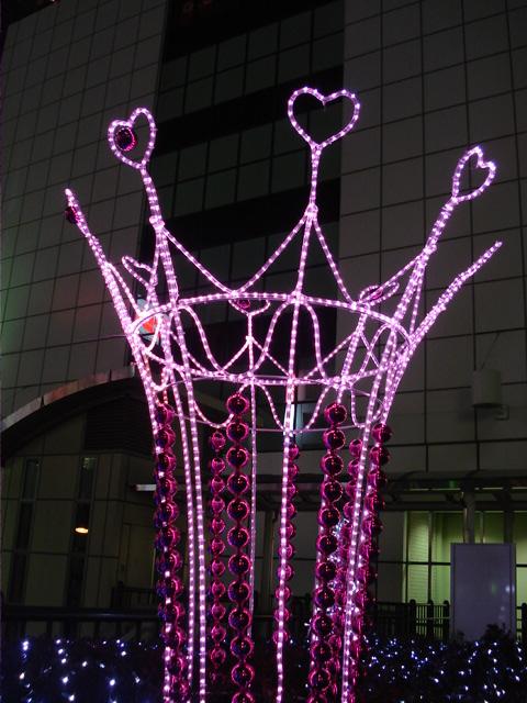 20081227 立川駅北口イルミネーション.JPG