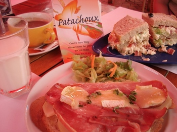 20090817 1Lunch Patachoux.JPG