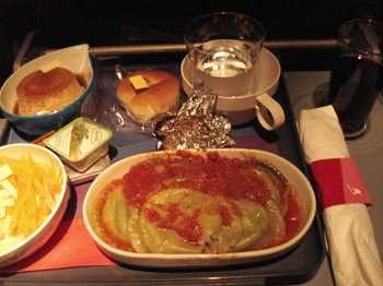 20090819 13LAN機内食.JPG
