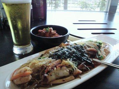 20110223 2海鮮チャプチェ&白菜キムチ.jpg