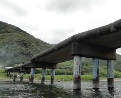 20110717 11高瀬沈下橋1.JPG