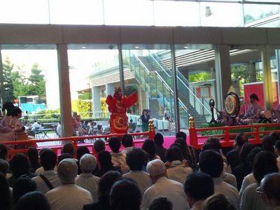20120826 ミッドタウン雅楽演奏.JPG