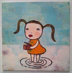 20120909 横浜美コレクション展奈良美智2.JPG