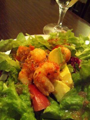 20121107 ミニロブスター・アボカド・トマトのサラダ.JPG