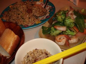 20090815 8夕食Roulottes中華.JPG