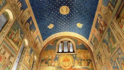 20110327 4大塚国際美術館3スクロヴェーニ礼拝堂.JPG