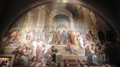 20110327 4大塚国際美術館7アテネの学堂.JPG